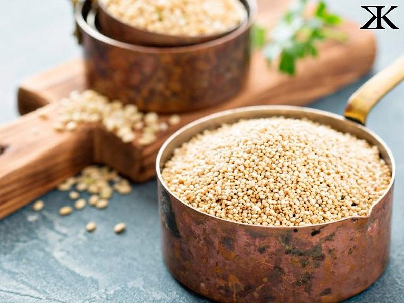 "quinoa ""width ="" 800 ""height ="" 600 ""srcset ="" https://blog.bulking.com.br/wp-content/uploads/2019/10/quinoa.jpg 800w, https: //blog.bulking. com.br/wp-content/uploads/2019/10/quinoa-300x225.jpg 300w, https://blog.bulking.com.br/wp-content/uploads/2019/10/quinoa-768x576.jpg 768w, https://blog.bulking.com.br/wp-content/uploads/2019/10/quinoa-600x450.jpg 600w ""sizes ="" (max-width: 800px) 100vw, 800px ""/></p> <p>Quinoa is rich in carbohydrates as well as steroids such as spinach. To make sense of the amount, 50 grams of quinoa contains about 18 milligrams of <strong>beta ecdysteroid</strong>which is a substance very similar to testosterone.</p> <p>In addition, quinoa still has plenty of <strong>saponin</strong>which are the same steroids present in oats that increase the body's testosterone. However, just like oats, it is interesting that you do not wash the plant. Although it has a bitter taste if not washed, the wash removes the saponins present in quinoa.</p> <p><img class="